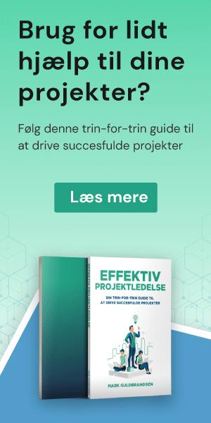 Effektiv projektledelse - Trin-for-trin guide