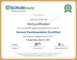 SCRUM Fundamental Certifikat