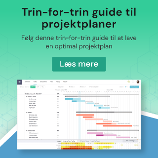 Trin-for-trin guide til projektplaner
